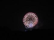 きれいな花火を、屋上から・・・