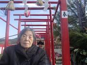 日本一の大門松見物に行ってきました(^O^)